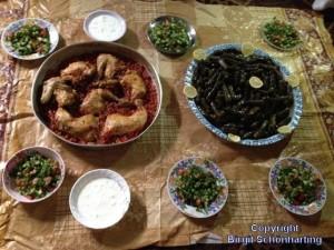 Flüchtlingslager Libanon 04 Syrisches Essen+