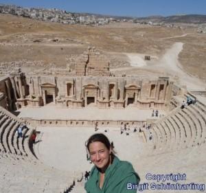 Flüchtlingslager Libanon 05 Benachbartes Amphitheater+